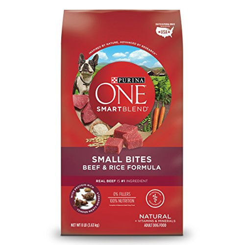 Purina ONE Natural Dry Dog Food, SmartBlend Small Bites Beef &...