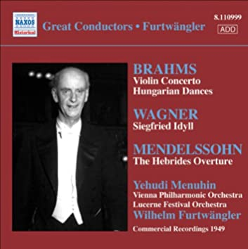 Brahms: Violin Concerto / Wagner: Siegfried Idyll