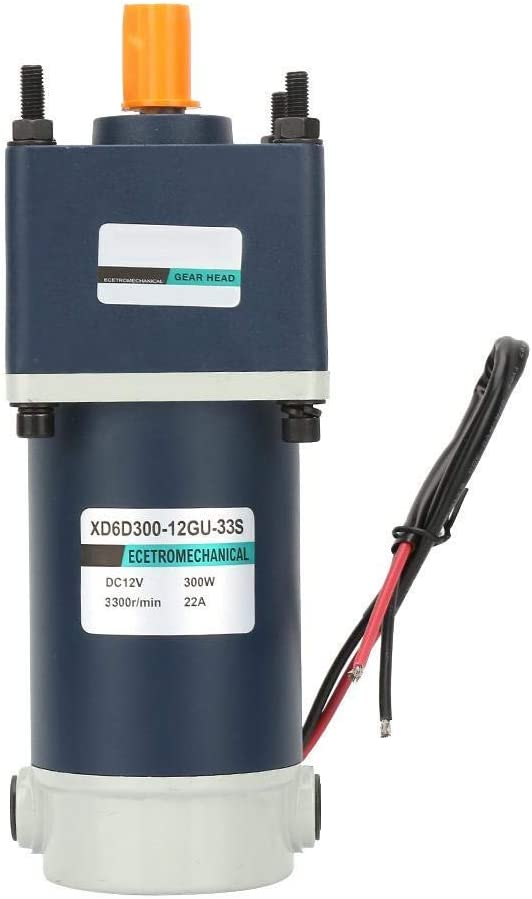 LIANGANAN lowest price 12V 300W DC Geared Per Motor,15mm Shaft High National uniform free shipping Torsion