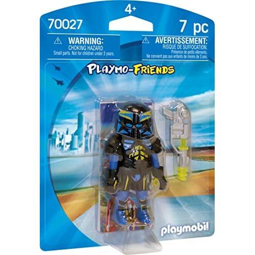 Playmobil 70027 - Agente spaziale Playmo-Friends, colorato
