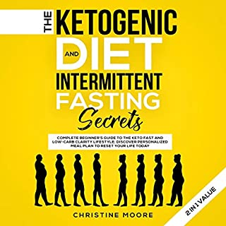 The Ketogenic Diet and Intermittent Fasting Secrets 2 in 1 Value audiobook cover art