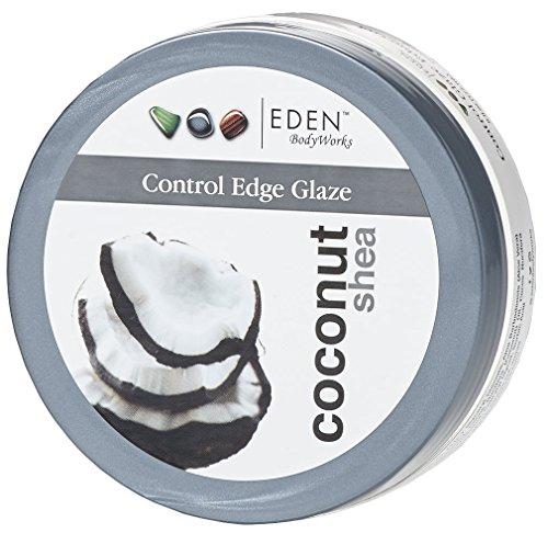 Eden BodyWorks Coconut Shea Control Edge Glaze, 6 Ounce
