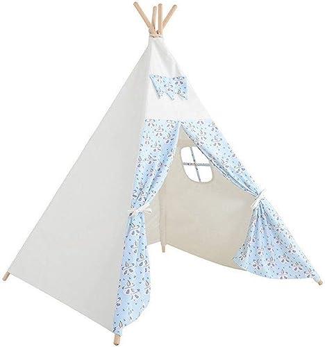 Vier Ecken Kids Zelt-Indoor und Outdoor Game Toy House,100% Baumwollleinwand + Neuseel ischer Kiefernstab,Erstellen Sie Einen Unabh igen und Interessanten Raum füR Ihr Kind