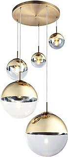 Globo 15855-5 - Lámpara de techo colgante (cristal), color dorado