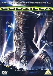 Godzilla (1998) is available on DVD (Region 2) from Amazon.co.uk