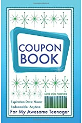 Coupon Book for My Awesome Teenager Paperback