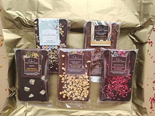 Cocoa Libre - Vegan, Dairy Free Multi Slab Selection Box 500g