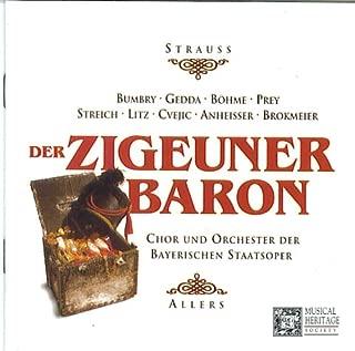 Strauss, Jr., Der Zigeunerbaron Operetta in 3 Acts Franz Allers UK