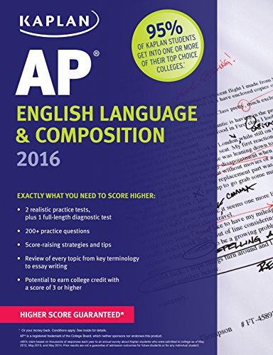 Kaplan Ap English Language Composition 2016 Kaplan Test Prep