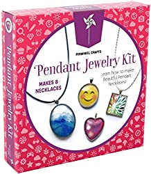 Best Toys for 10 Year Old Girls-Pinwheel Necklace Kit