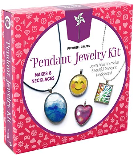 Pinwheel Crafts Jewelry Making Kit for Girls - Jewelry Craft Kit, Custom Glass...
