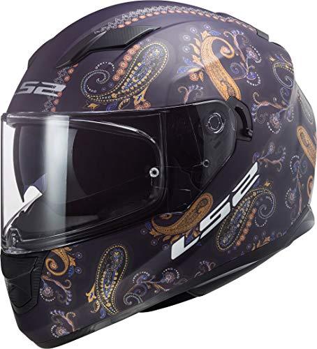 LS2 Herren NC Motorrad Helm, schwarz, XL