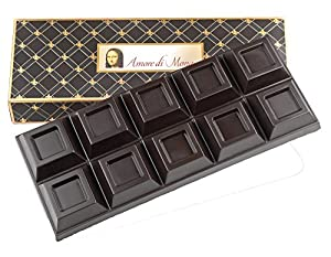 Amore di Mona's Gourmet Dark Chocolate Bulk Bar is perfect for dipping, coating and detail work. Made pure and simply with just three ingredients of the finest quality: Fair Trade, Organic, Raw Madhava Agave Nectar, Dutch Cocoa Butter, and Belgian Co...