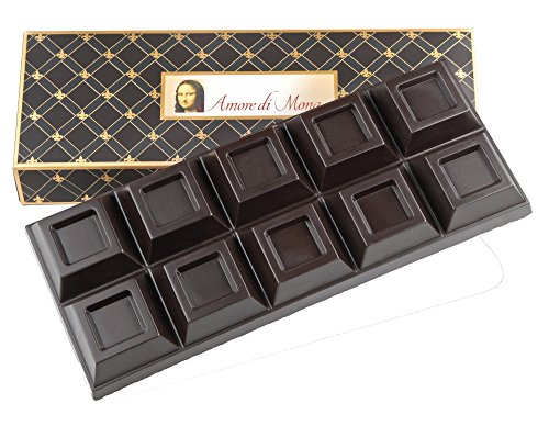Gourmet Dark Chocolate Bulk Bar - 20 oz. Vegan, Organic, Non-GMO, Low...