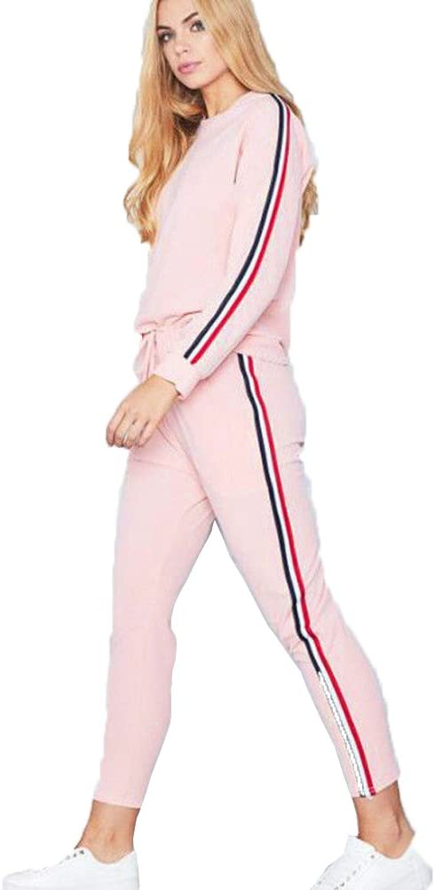 Womens Tracksuits Sets Ladies Casual Lounge Wear Joggers Active Sport Loungewear