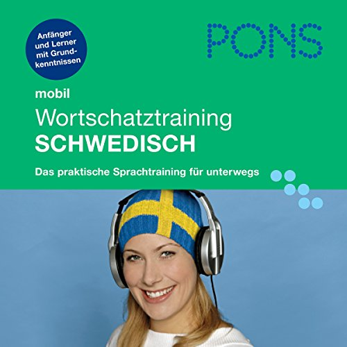 PONS mobil Wortschatztraining Schwedisch audiobook cover art