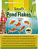 Tetra Pond Flakes – Fischfutter für kleinere und junge Teichfische in Flockenform, für eine...