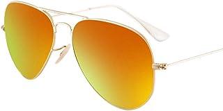 LZY メンズサングラス- サングラスメンズドライバーミラーアイピース運転太陽の鏡潮の鏡ハンサムなメガネ男性 (色 : 赤, サイズ さいず : 13.1x14x5.3cm)