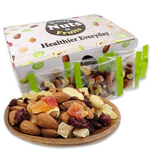 ミックスナッツ ドライフルーツ 7種ナッツ&ドライフルーツミックス 1kg (28g×36袋) 小分け 個包装 アーモンド ブラジルナッツ パイナップル マンゴー パパイヤ レーズン クランベリー 箱入り おやつ おつまみ