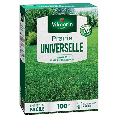 Vilmorin - Gazon Prairie universelle boite de 1 kg 100 m²