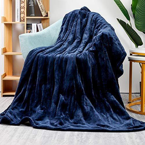 Homde Heated Electric Throw 50 Inch x 60 Inch Flannel Washable Blanket with 3-Heat Setting Auto-Off...