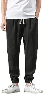 h&m twill joggers zipper