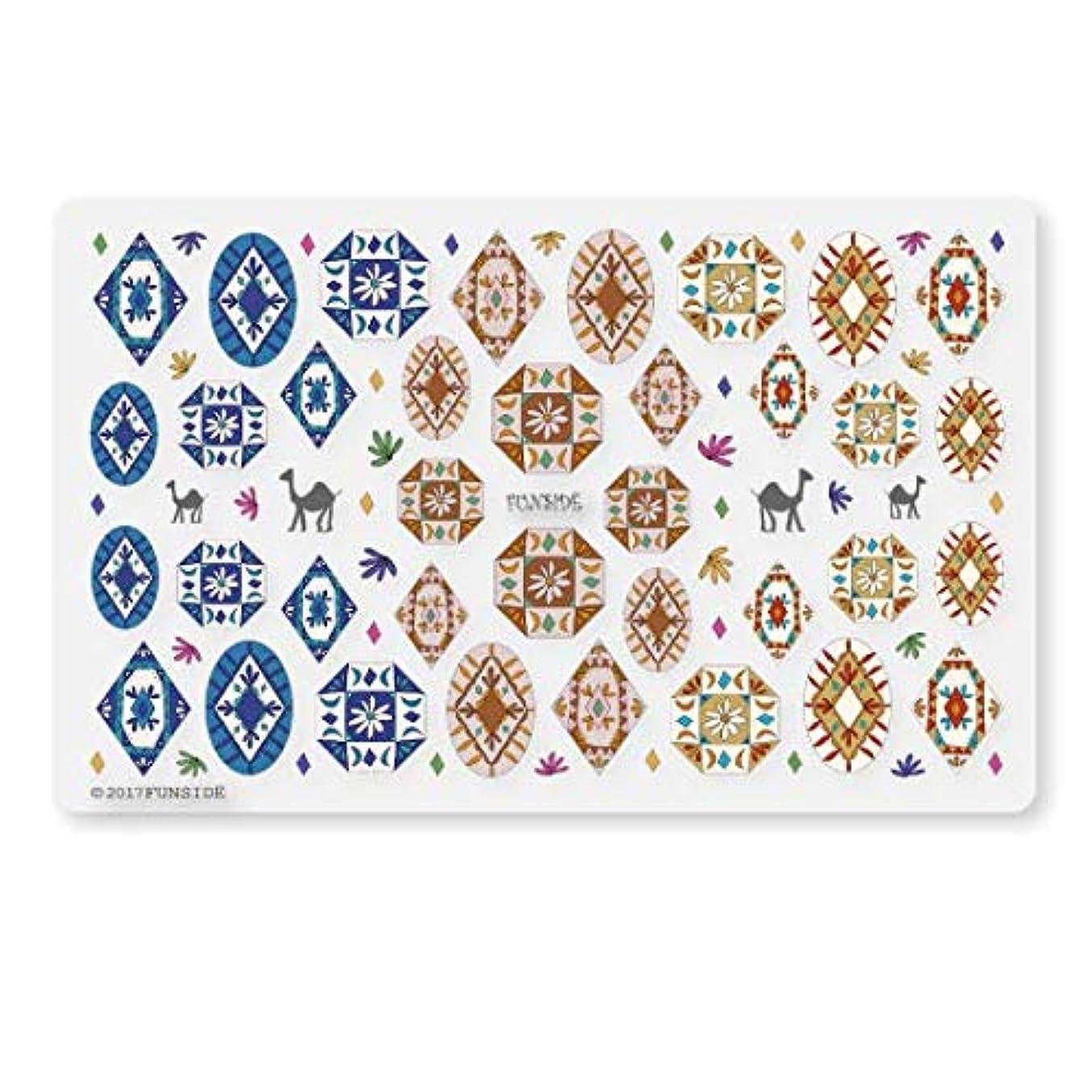処方地上の小売未硬化ジェル対応 Morocco モロッコ ネイルシール ネイルステッカー 民族 エスニック ボヘミアン 貼りやすい 貼るだけ 極薄シート 日本製
