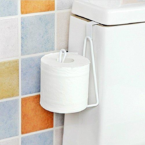 Funie Taschentuch-Aufbewahrung, langlebiger Toilettenpapierhalter, Handtuchhalter, Küchenregal, Kleiderbügel – Weiß OneSize weiß