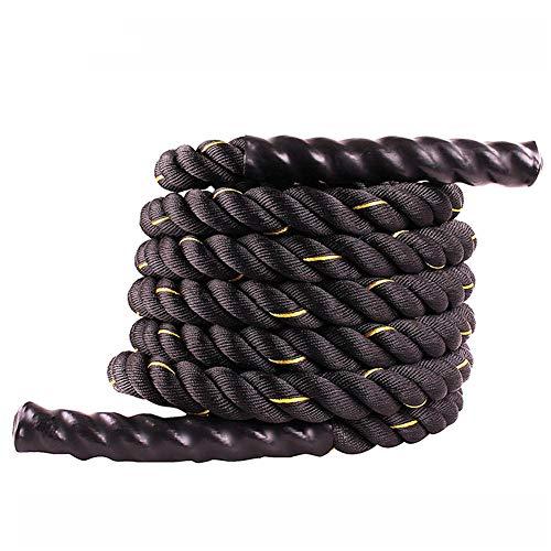 GU YONG TAO Cuerdas de Ejercicio Pro Fitness, Resistentes al Desgaste y a la corrosión, Funda Protectora Mejorada, Material de Nylon Duradero, Cuerdas de Entrenamiento