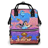 Aladdin's Wish Mochila de viaje multifunción impermeable mochila de viaje maternidad pañales cambiantes bolsas