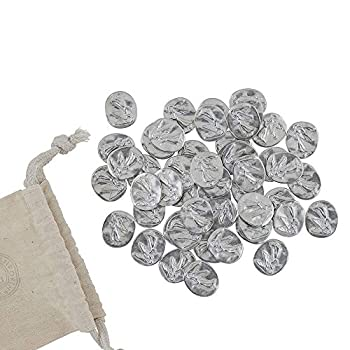 DANFORTH – Vilmain Pocket Angel Tokens / Coins Pewter Made in The USA Gift Bag  Pack of 50