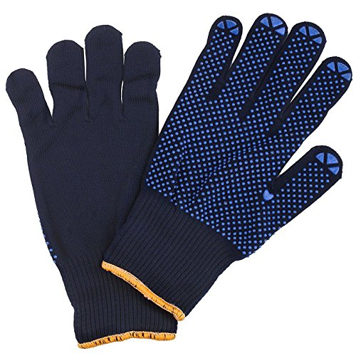 Connex COX938238 Handschuhe Feinstrick blau Gr.8