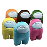 Blivener Among Us Plush Stuff Animal Plushies Toys Among Us Merch Crewmate Plushie Gifts for Game Fans Gruppe A