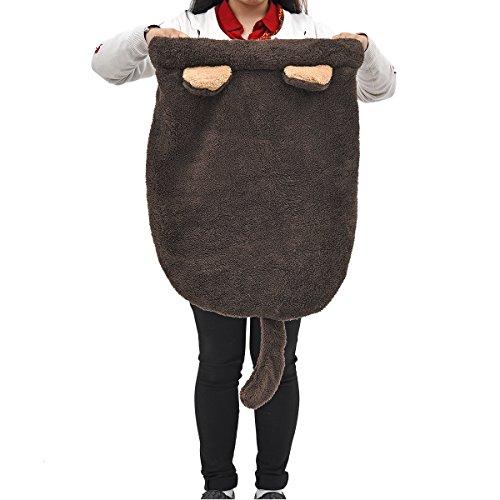 PAWZ Road Cat Sleeping Bag Self-Warming Kitty Sack Beige