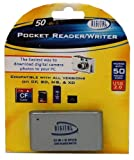 Sakar 50-in-1 Pocket Reader/Writer Compatible w/ all SD, CF, MS, and XD Cards (CR-72)