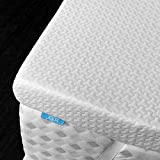 RUUF 3-Inch Firm Mattress Topper Twin, High Density Memory Foam Bed Topper with Removable Hypoallergenic Cooling Cover