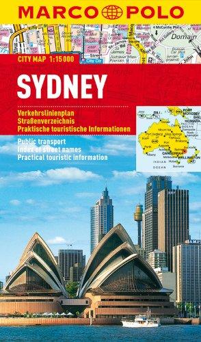MARCO POLO Cityplan Sydney 1:15 000: Stadsplattegrond 1:15 000 (MARCO POLO Citypläne)