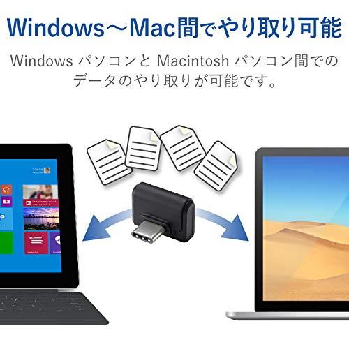 エレコムUSメモリ小型16GBUSBタイプCUSB3.0/USB3.1(Gen1)対応ブラックMF-CDU31016GBK