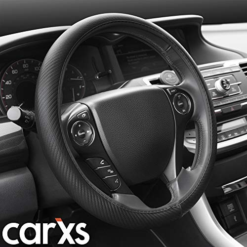 BDK SW-644 All Black Carbon Fiber UltraSport Series Steering Wheel...