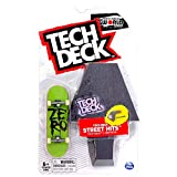TECH DECK Street Hits World Edition Limited Series Zero Skateboards Blood Stacked Green Complete Fingerboard and Sculpture Obstacle