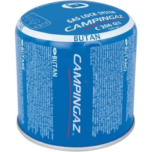 6 x 190g Campingaz C206 GLS Pierceable Cartridges - New With Gas Lock System by Campingaz