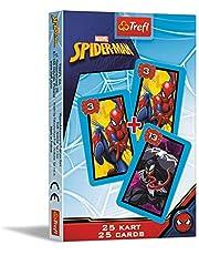 Trefl 08484 Karty Piotruś, Spiderman, Disney Marvel Spiderman 08484