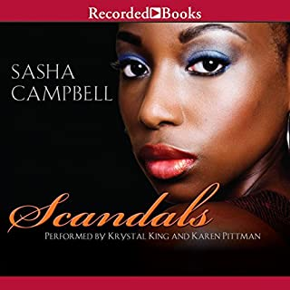 Scandals audiobook cover art