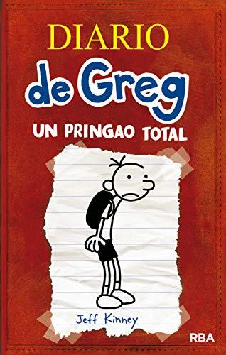 Page de couverture de Diario de Greg 1. Un pringao total [Diary of a Wimpy Kid, Book 1]