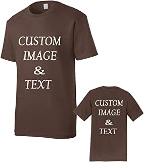 Customized T-Shirt, Upload Photos, Type Text, Custom Gifts, Personalized with Your Own Design