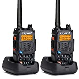Olywiz UV6S High Power Dual Band Amateur Two-Way Radio Transceiver 128 Channel UHF VHF FM Radio 2000mAh...