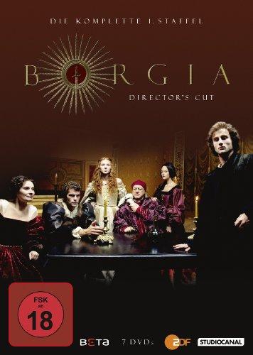 Borgia - Staffel 1 (Director's Cut) (7 DVDs)