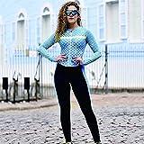 Triatlón para mujer, conjuntos de ciclismo ajustados, mono, pantalones de manga larga, conjuntos de Jersey de bicicleta, traje de natación, traje MTB (Color : 5, Size : X-Small)