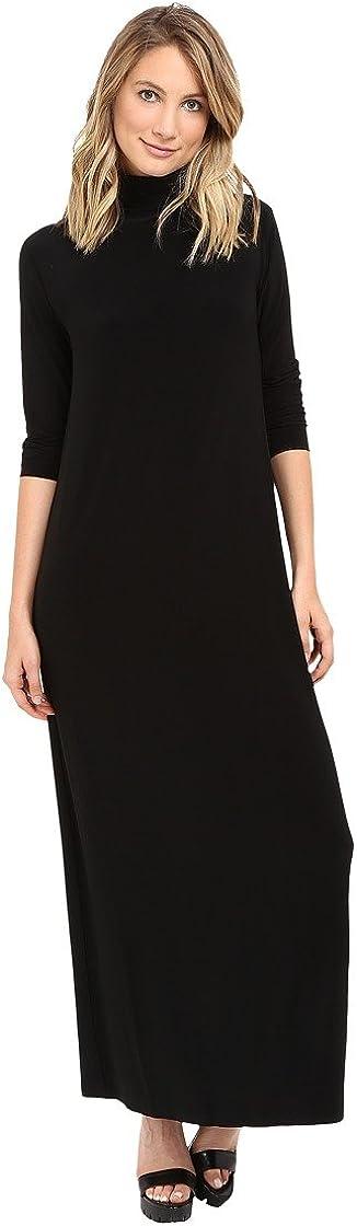 KAMALIKULTURE Women's Go Turtleneck Maxi Dress