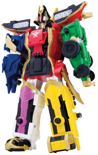 Bandai Power Rangers - Super Megaforce - Legendary Megazord - BD38095.38096 by